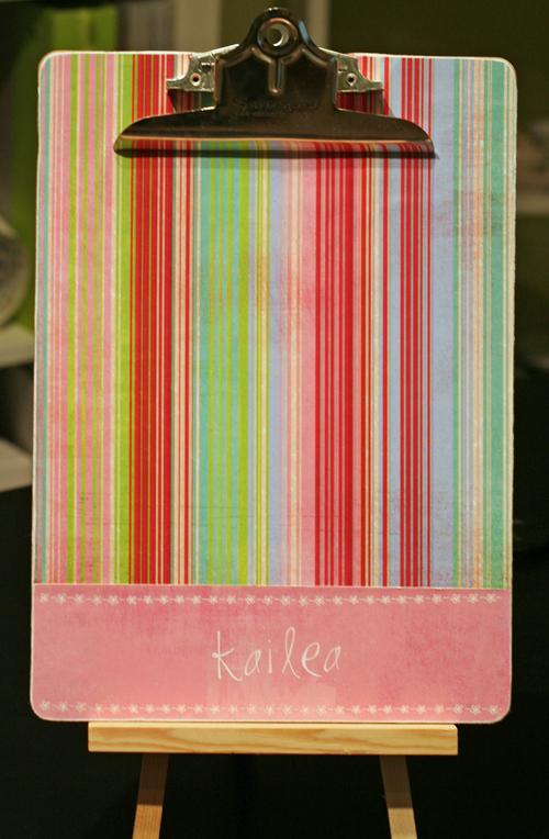 Decorative-clipboard