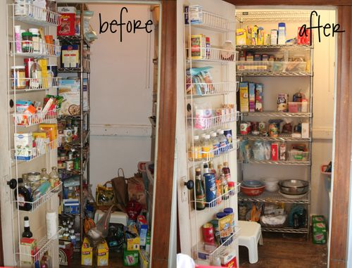 Pantry-organizing copy