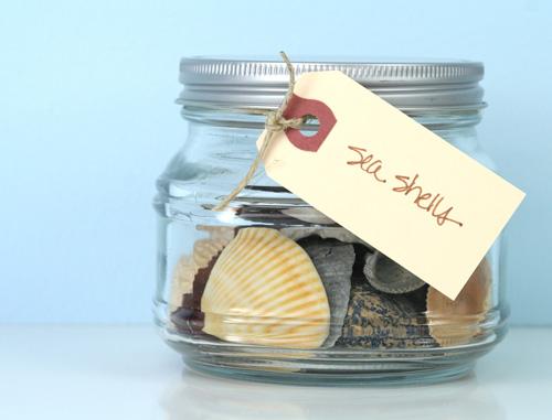 Glass-jar-seashells-copyright-simplify101