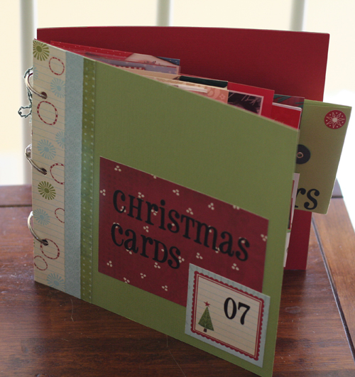 Organize-holiday-cards