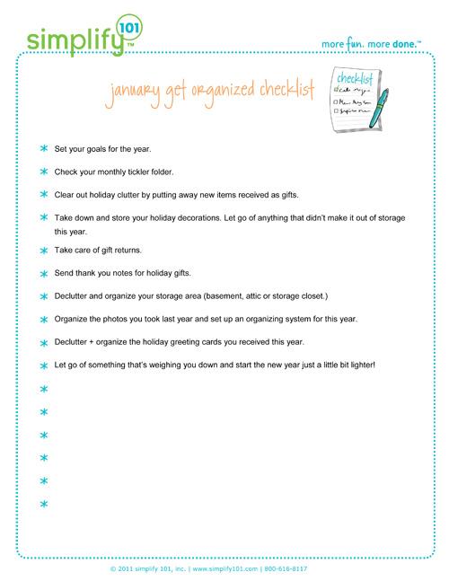 January - checklist-copyright-simplify101