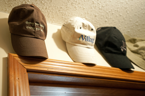 Hats-over-door